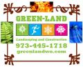 Green-Land Landscaping West Orange Logo